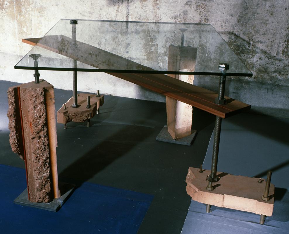 Bureaux mobilier beton couleur